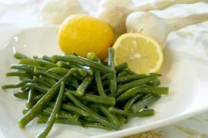 インゲンのオリーブオイルとレモン和え