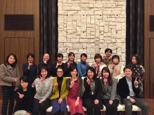 NPO日本食育インストラクター研修会 安井先生と - コピー